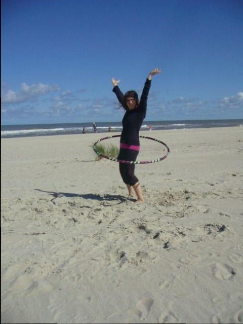 Hooping am MeerII