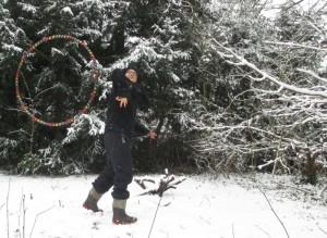 Schneehooping