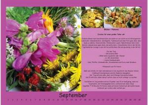 Wandkalender September