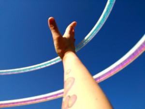 2Reifen blauer Himmel